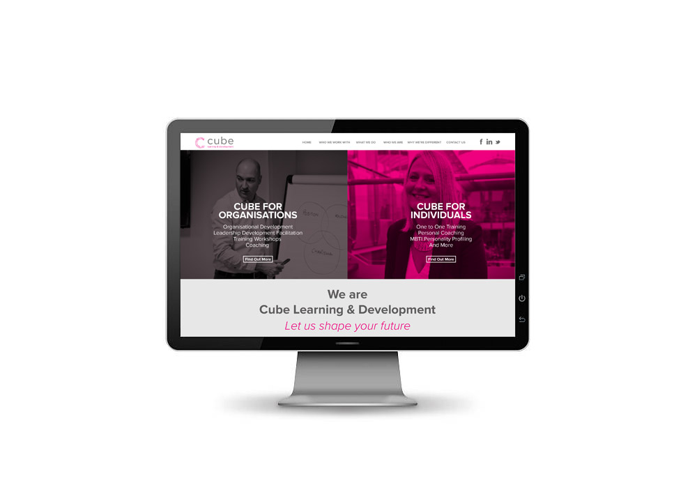 Cube website